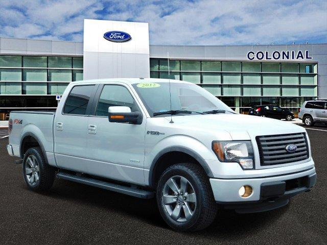 2012 Ford F-150 SuperCrew Cab FX4 4 Wheel Drive Wit