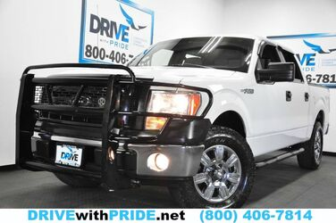 Ford F-150 XLT 4WD FLEX FUEL 148K 1 OWN GRILLE GUARD BED COVER RUNBOARDS 2012