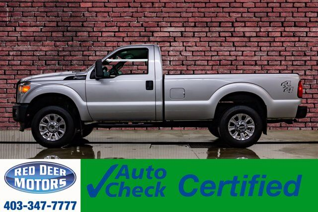 2012 Ford F-250 4x4 Reg Cab XL Red Deer AB