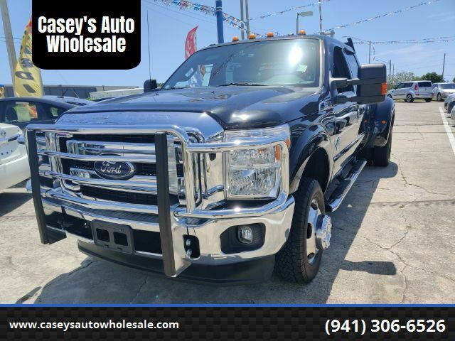 2012 Ford F-350 SD Lariat Crew Cab Long Bed DRW 4WD Sarasota FL