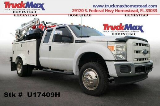 2012 Ford F-450 Service Body w/Crane Homestead FL