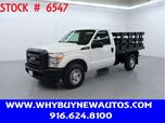 2012 Ford F250 ~ 8ft. Stake Bed ~ Only 27K Miles!