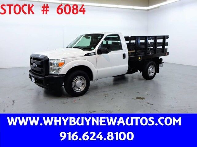 2012 Ford F250 ~ 8ft. Stake Bed ~ Only 27K Miles! Rocklin CA