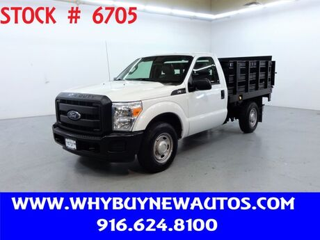 2012 Ford F250 ~ Liftgate ~ Stake Bed ~ Only 41K Miles! Rocklin CA