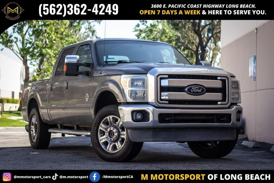 2012_Ford_F250 Super Duty Crew Cab_Lariat Pickup 4D 6 3/4 ft_ Long Beach CA