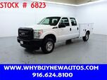 2012 Ford F250 Utility ~ 4x4 ~ Crew Cab ~ Only 66K Miles!