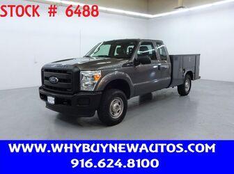 Ford F250 Utility ~ 4x4 ~ Extended Cab ~ Only 50K Miles! 2012