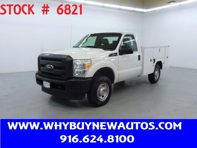 2012 Ford F250 Utility ~ 4x4 ~ Only 64K Miles! Rocklin CA