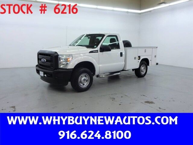 2012 Ford F250 Utility ~ 4x4 ~ Only 76K Miles! Rocklin CA