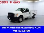 2012 Ford F250 Utility ~ Only 33K Miles!
