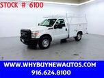 2012 Ford F250 Utility ~ Only 49K Miles!