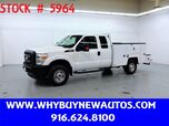 2012 Ford F350 Utility ~ 4x4 ~ Extended Cab ~ Only 34K Miles!
