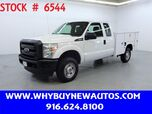 2012 Ford F350 Utility ~ 4x4 ~ Extended Cab ~ Only 54K Miles!