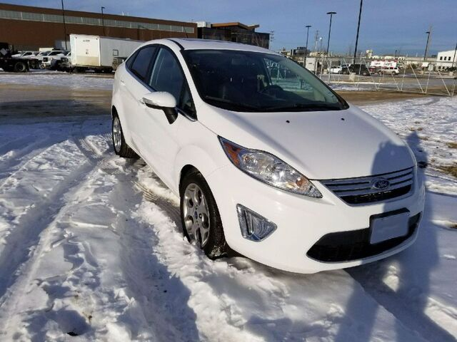 2012 Ford Fiesta PST Paid ~ Loaded ~ Heated Leather ~ Sunroof ~ Call 888-299-8130 EZ Approval  ~$125 B/W! Sherwood Park AB