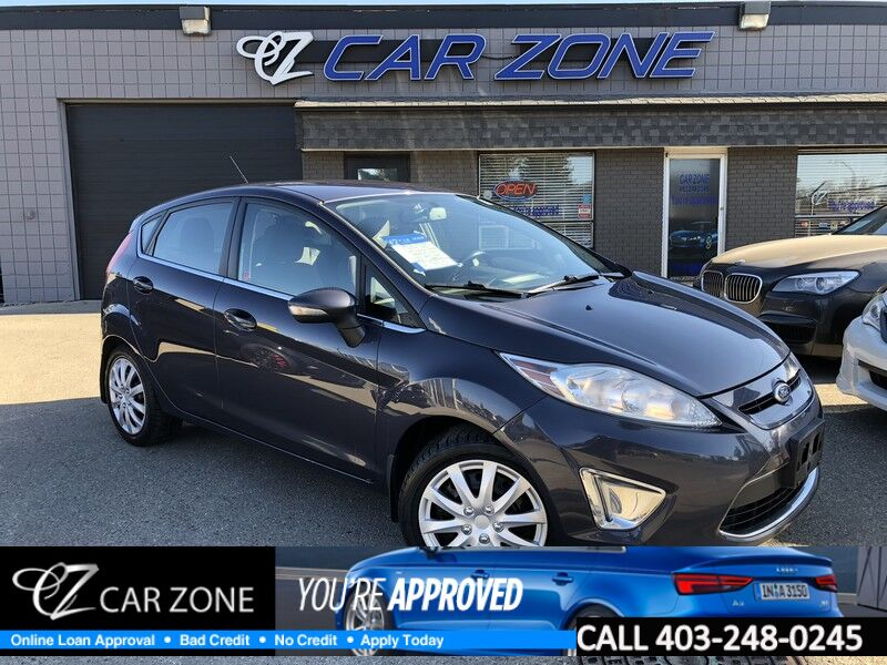 2012 Ford Fiesta SES HATCHBACK, EASY LOANS Calgary AB