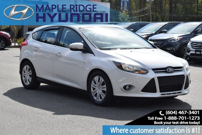 2012 Ford Focus 5dr HB Titanium Maple Ridge BC