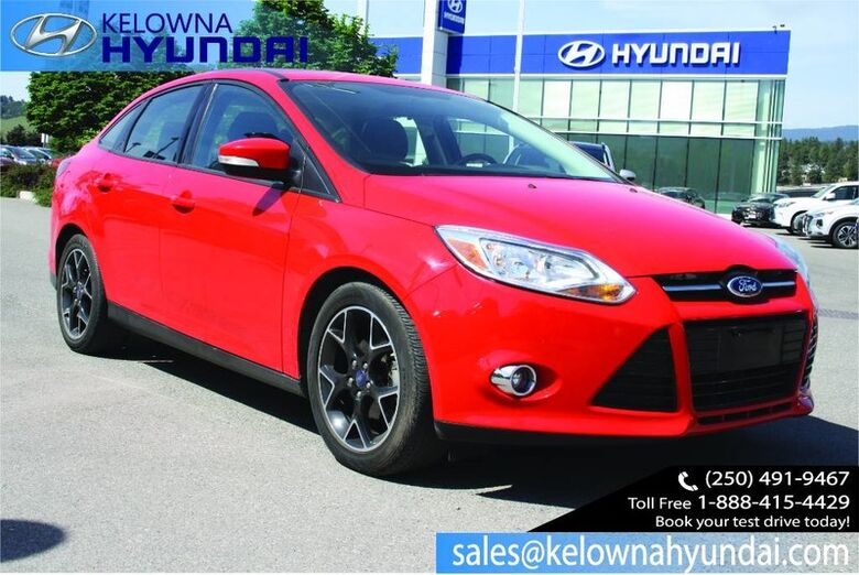 2012 Ford Focus SE No accident, One owner Kelowna BC