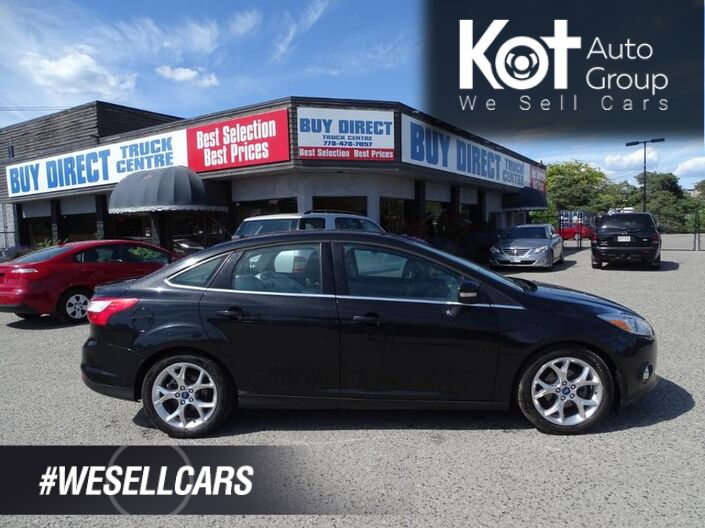 2012 Ford Focus SEL, Heated Leather Seats, A/C Touch Screen, Sunroof Kelowna BC