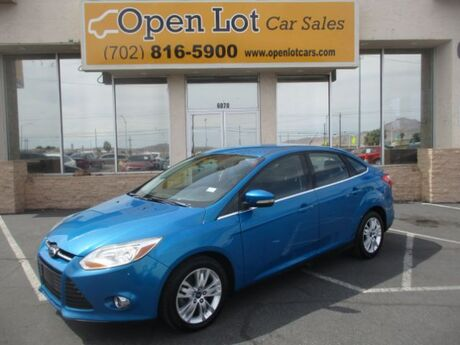 2012 Ford Focus SEL Sedan Las Vegas NV