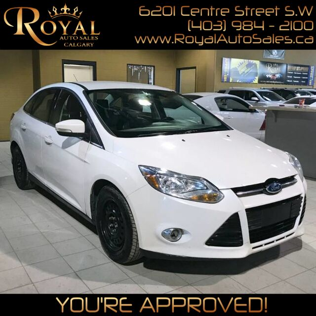 2012 Ford Focus SEL w/ SONY SOUND SYSTEM, LEATHER, INT PHONE Calgary AB
