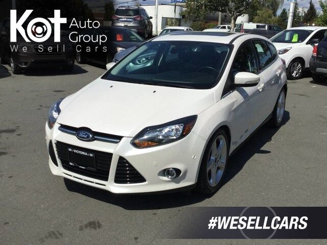2012 Ford Focus Titanium One Owner! No Accidents, Navigation Victoria BC