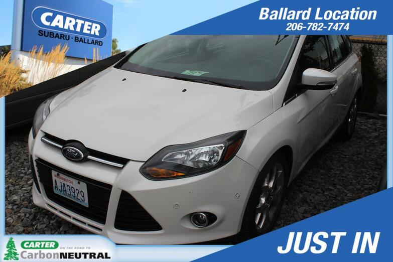 2012 Ford Focus Titanium Seattle WA