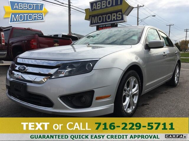 2012 Ford Fusion SE 1-Owner w/Low Miles Buffalo NY