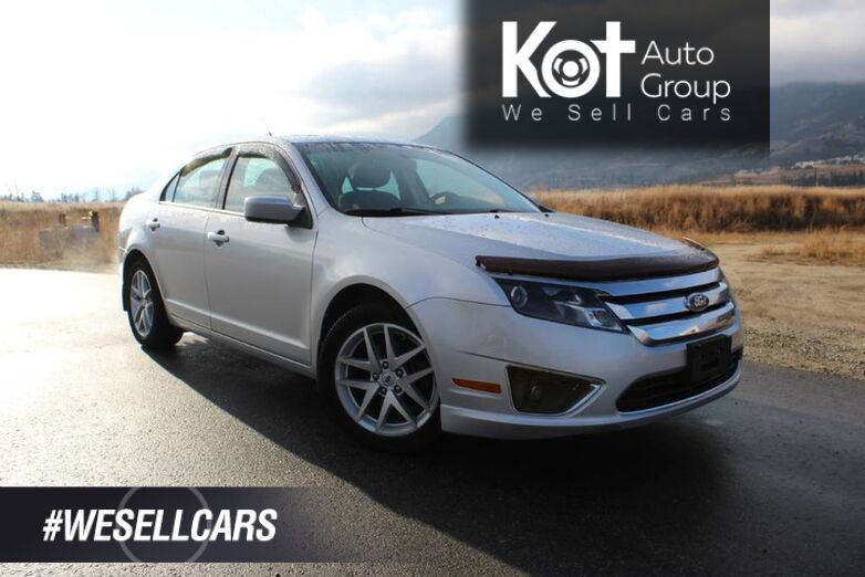 2012 Ford Fusion SEL FWD, NO ACCIDENTS, Sunroof, Loaded! Penticton BC