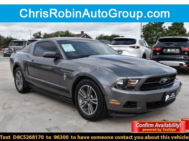 2012 Ford Mustang 2DR CPE V6 PREMIUM Odessa TX