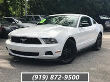 2012_Ford_Mustang_2dr Cpe V6_ Cary NC