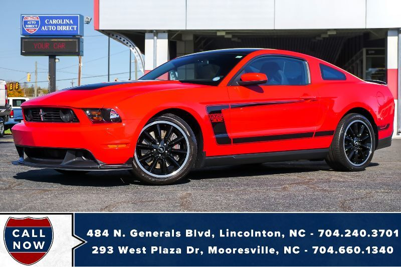 2012 Ford Mustang Boss 302 #2523 *Manual* w/ Kook Headers & Mid Pipe Mooresville NC