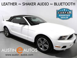 2012_Ford_Mustang Convertible V6 Premium_*AUTOMATIC, LEATHER, STEERING WHEEL CONTROLS, ALLOY WHEELS, SHAKER AUDIO, BLUETOOTH PHONE & AUDIO_ Round Rock TX