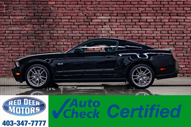2012 Ford Mustang GT Roush Manual Leather Red Deer AB