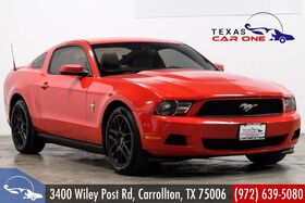2012_Ford_Mustang_PREMIUM AUTOMATIC LEATHER SEATS BLUETOOTH POWER DRIVER SEAT ALLOY WHEELS_ Carrollton TX