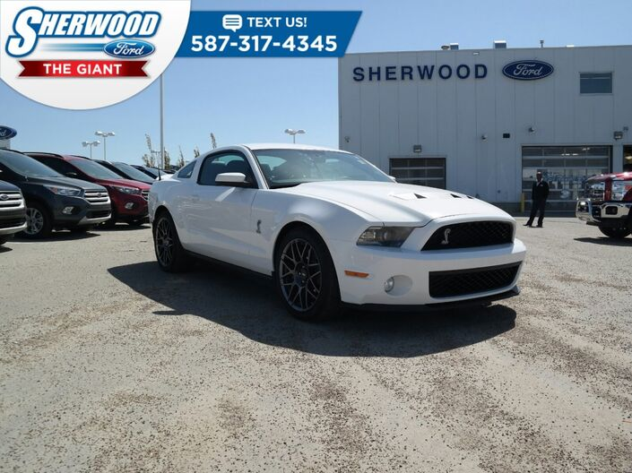 2012 Ford Mustang Shelby GT500 Sherwood Park AB