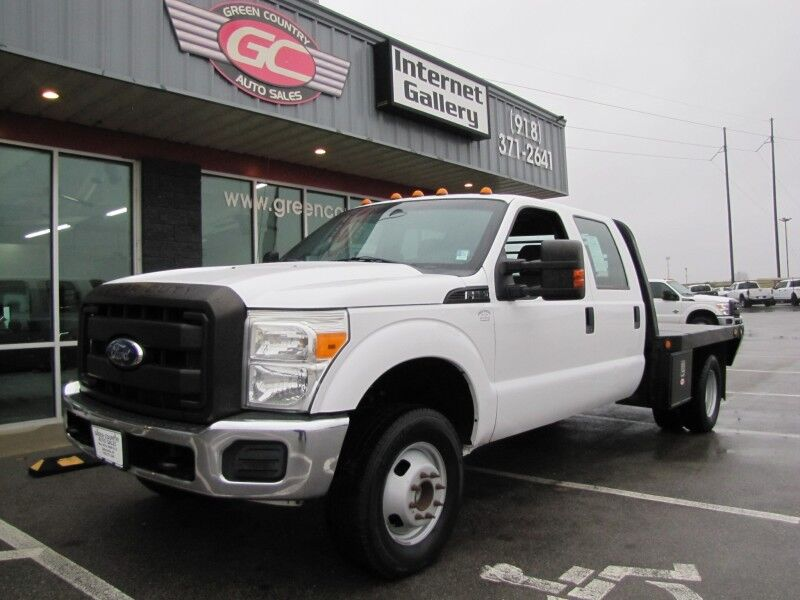 2012 Ford Super Crew F-350 DRW 4x4 Flatbed XL Collinsville OK