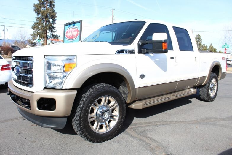 2012 Ford Super Duty F-250 4WD Crew Cab 156  King Ranch Bend OR