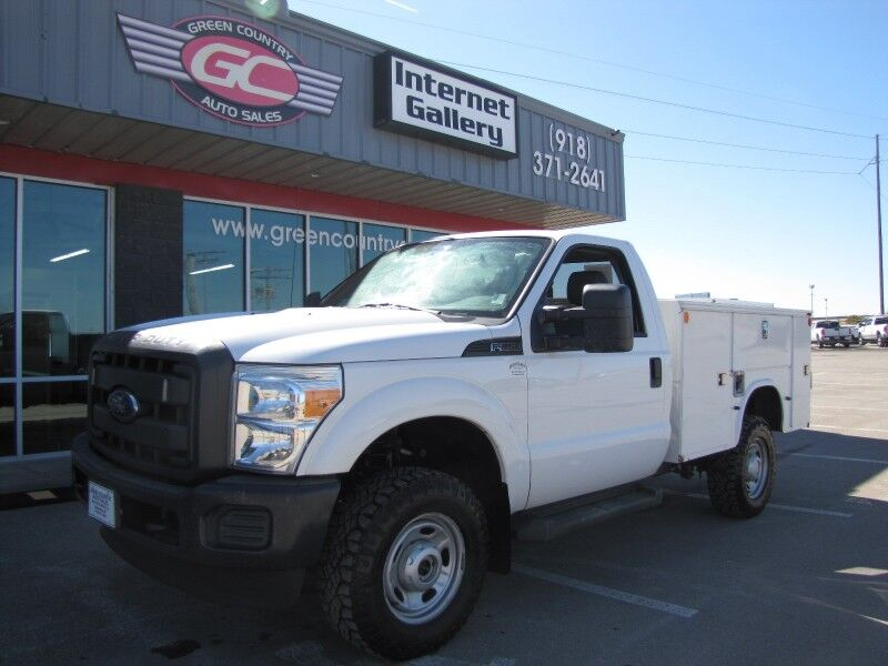 2012 Ford Super Duty F-250 4x4 Utility XL Collinsville OK