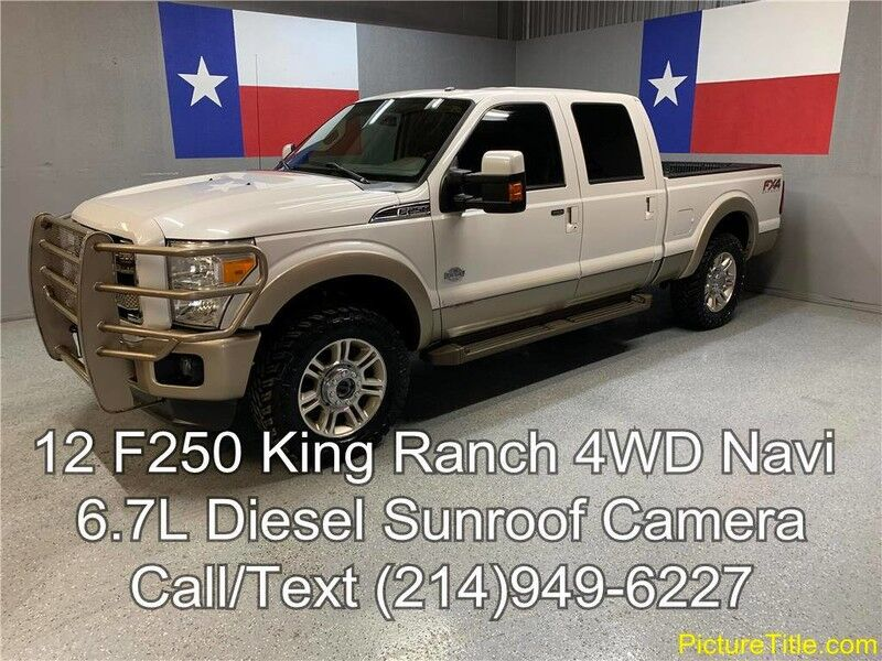 2012 ford f 250 king ranch lifted