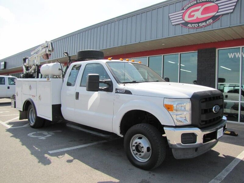 2012 Ford Super Duty F-350 DRW 4x4 Utility Crane XL Collinsville OK