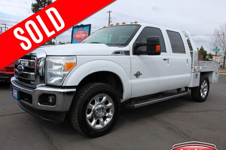 2012 Ford Super Duty F-350 SRW 4WD Crew Cab 156  Lariat Bend OR