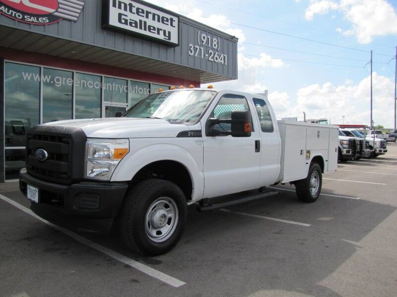 2012 Ford Super Duty F-350 SRW 4x4 Utility