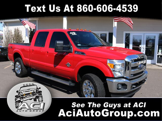 2012 Ford Super Duty F-350 SRW Lariat East Windsor CT