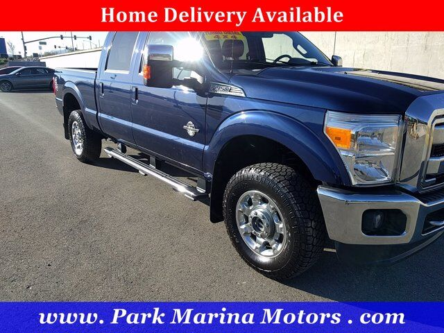 2012 Ford Super Duty F-350 SRW Lariat Redding CA