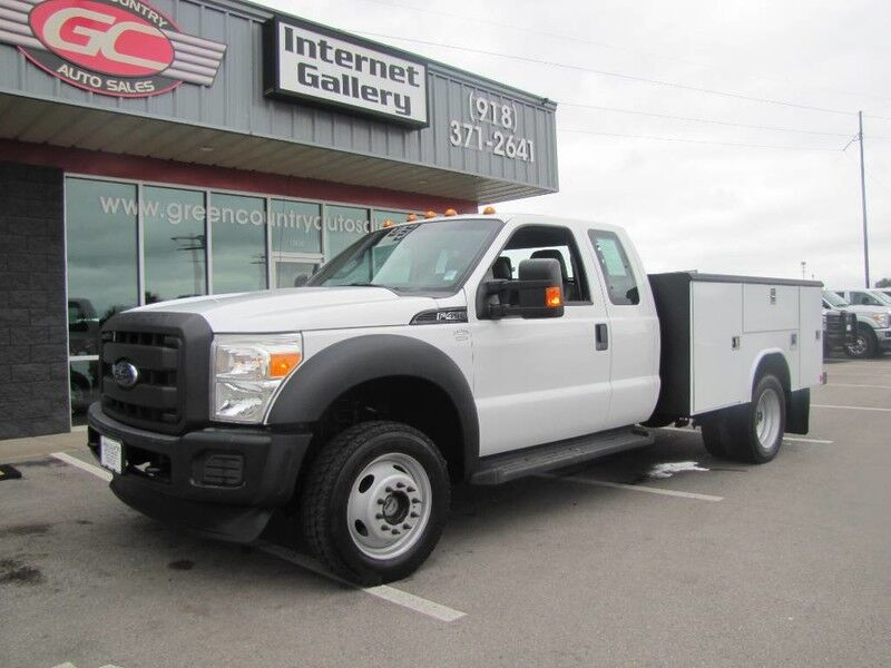 2012 Ford Super Duty F-450 V10 4x4 Utility XL Collinsville OK