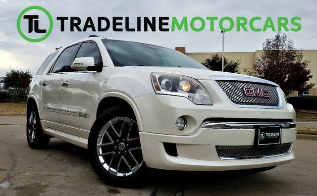 2012 GMC Acadia Denali NAVIGATION, SUNROOF, REAR ENTERTAINMENT, AND MUCH MORE!!! CARROLLTON TX