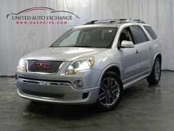 2012_GMC_Acadia_Denali with 20 Wheels / 3.6L V6 Engine / AWD / Panoramic Sunroof / Navigation / 3rd Row Seat and Rear Entertainment / Parking Aid with Camera / BOSE Sound System / Heated + Ventilated Front Seats_ Addison IL