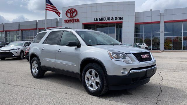 2012 GMC Acadia SLE Green Bay WI