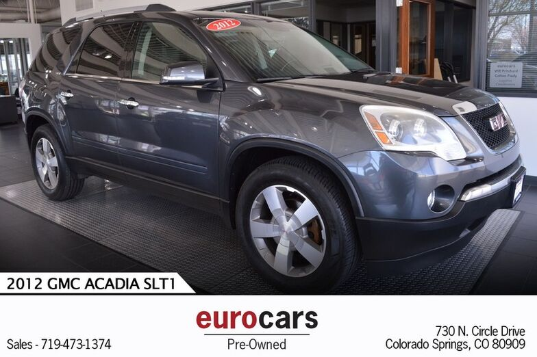 2012 GMC Acadia SLT1 Colorado Springs CO