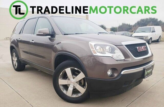 2012 GMC Acadia SLT1 REAR VIEW CAMERA, BLUETOOTH, LEATHER, AND MUCH MORE!!! CARROLLTON TX